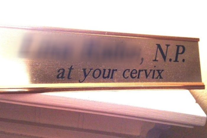 My Gynecologist Has A Sense Of Humor
