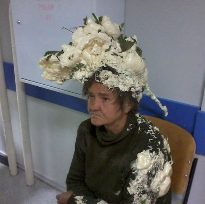 Woman Ends Up In Hospital After Mistaking Builders Expanding Foam For Hair Mousse